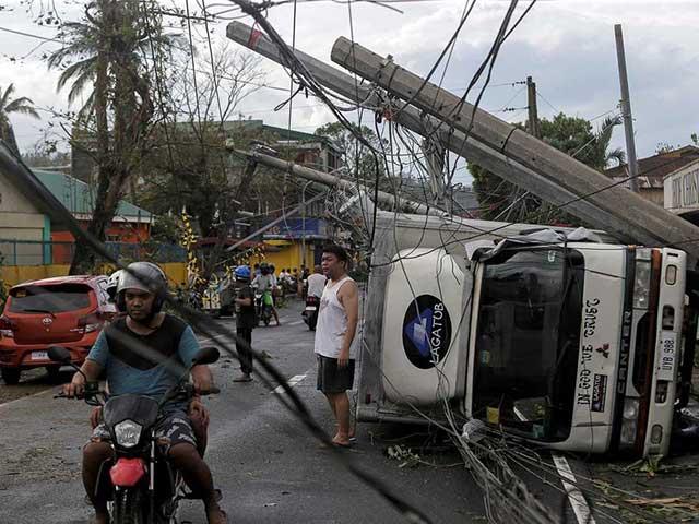 Papua Barat Sempat Dilanda Badai Taifun Kamuri