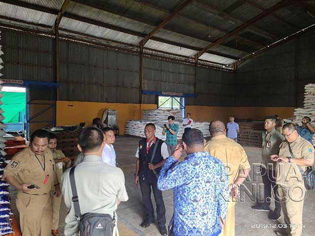 TPID Papua Barat Inspeksi Kesiapan Pangan
