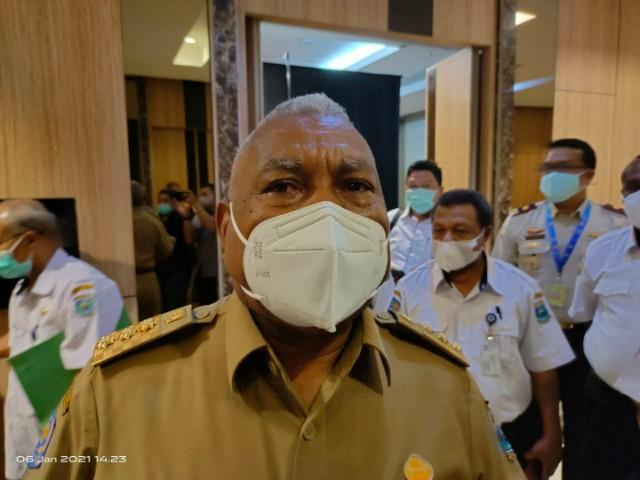 Gubernur Papua Barat Siap Vaksinasi Pertama