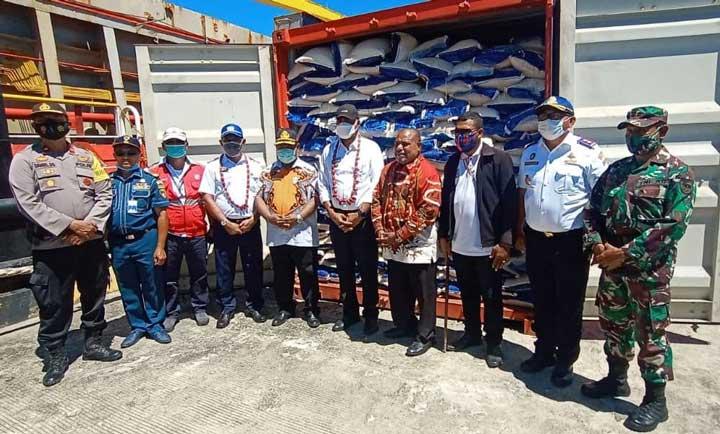 Wakil Gubernur Papua Barat Buka Tol Laut