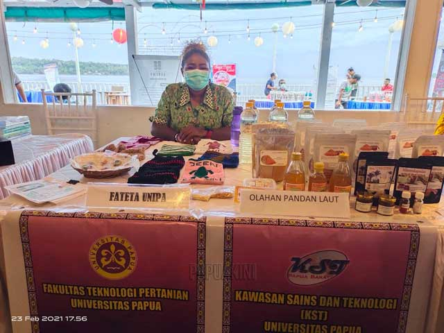 Puluhan UKM Papua Barat Berpartisipasi di Pameran Balitbangda