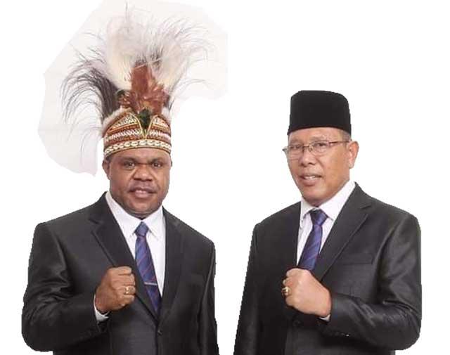 MK Ketok Palu, Hermus Indou - Edi Budoyo Bupati dan Wakil Bupati Manokwari