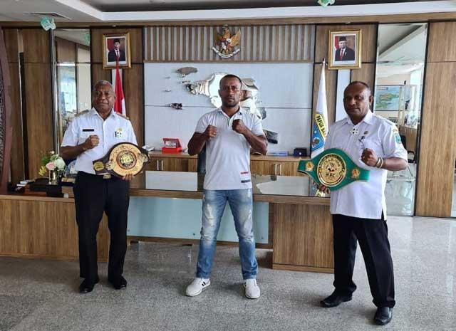 Geisler Ap Minta Dukungan Gubernur Papua Barat