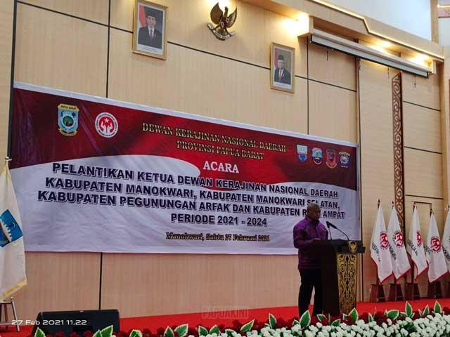24 Maret Rencana Pelantikan Bupati Fakfak, Kaimana, dan Sorong Selatan