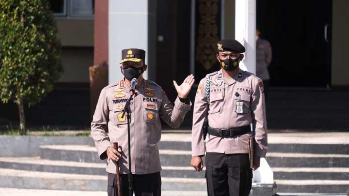 Kapolda Papua Barat Tindak Tegas Calo Penerimaan Bintara Otsus