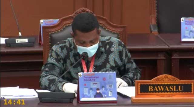 KPU Nilai Pasangan SADAR Tak Punya Legal Standing Sengketa Pilkada Fakfak