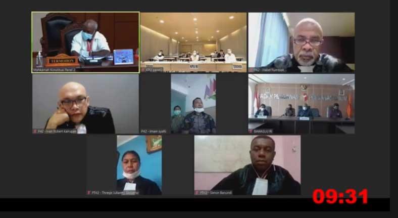 Bawaslu Manokwari Selatan di MK Benarkan KPU Tak Langgar Tahapan Pilkada