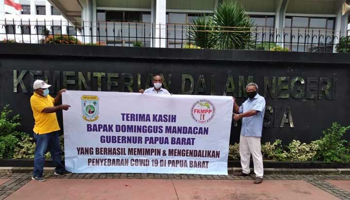 Diaspora Papua di Jakarta Apresiasi Gubernur Papua Barat