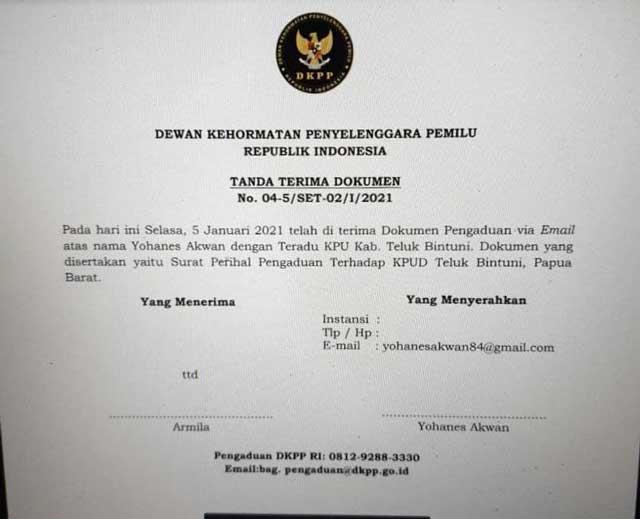 Laporkan 2 Oknum KPU ke DKPP, Konsultan Hukum PMK2 Tunggu Undangan Sidang