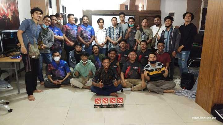 Team AKG Jawara IESPA Open Tournament Dota 2 Manokwari