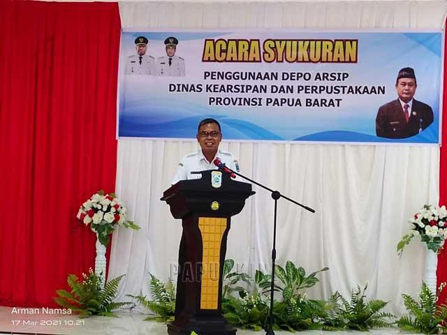 Depo Arsip Papua Barat Resmi Digunakan