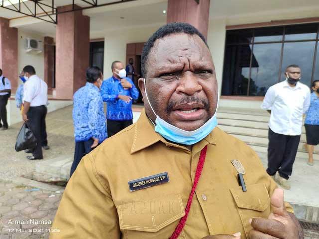 Ketua DPR Papua Barat Dukung Tambahan Anggaran Kearsipan
