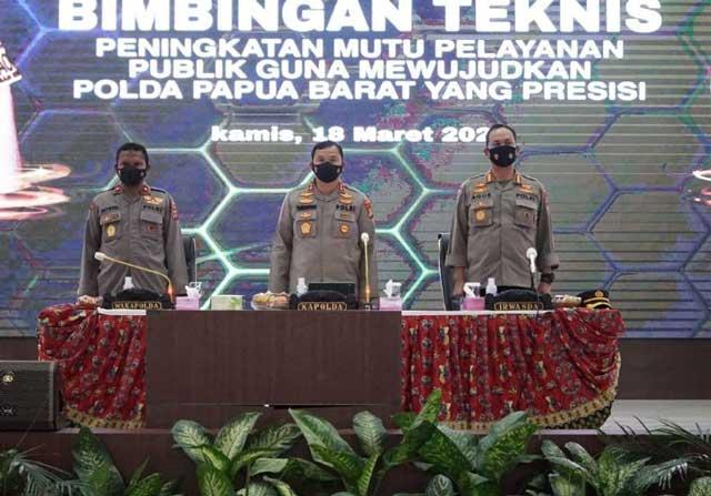 Polda Papua Barat Tingkatkan Kepuasan Publik