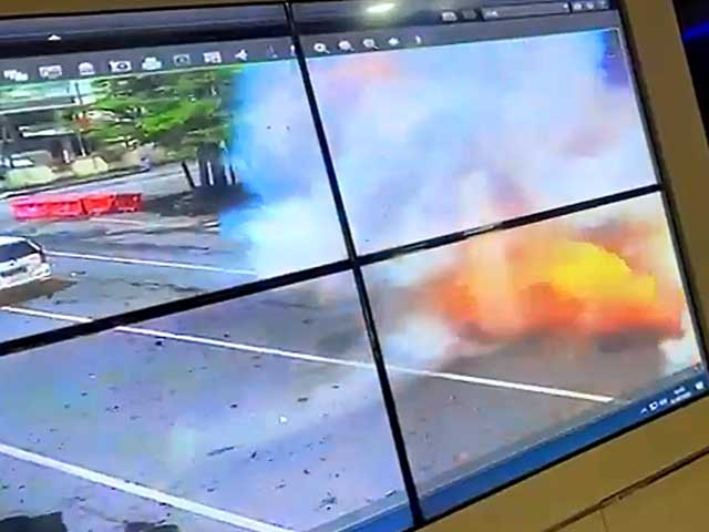 Beredar Video Dugaan Bom Bunuh Diri Depan Katedral Makassar