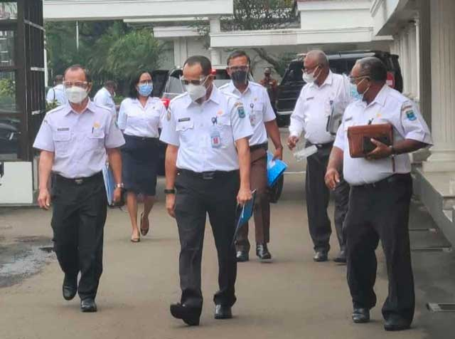 Gubernur Papua Barat Masukkan Puluhan Usul Proyek Percepatan ke Wakil Presiden