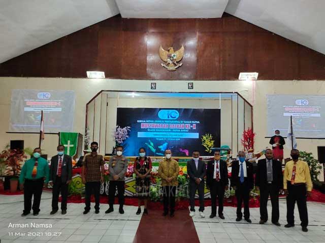 GBGP di Tanah Papua Klasis Manokwari Gelar Musda X