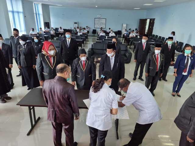 20 Pejabat Fungsional Inspektorat Papua Barat Dilantik