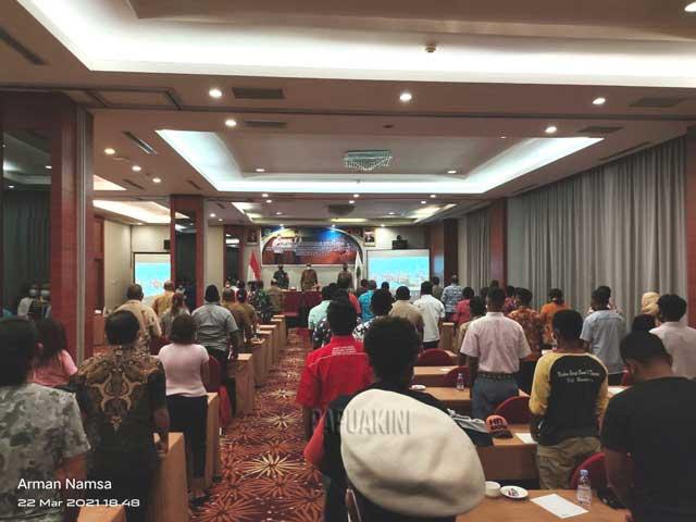Wagub Harap Terwujud Sinergitas Relawan Covid-19 Dengan Pemerintah