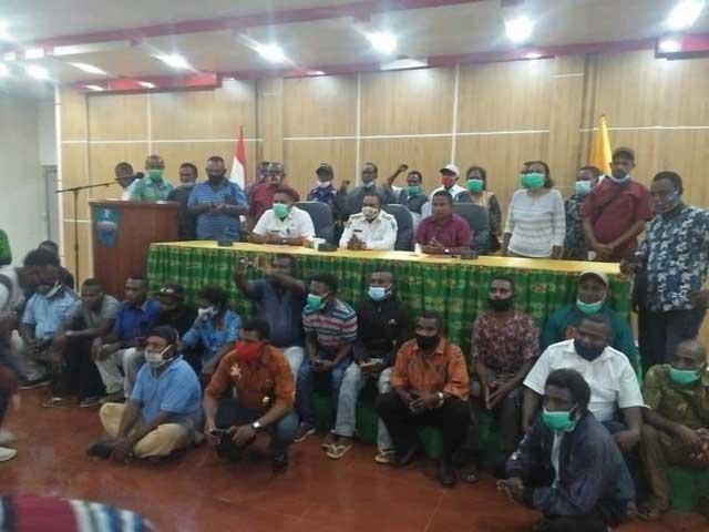 Bupati Manokwari Dukung Pemekaran Kabupaten Manokwari Barat
