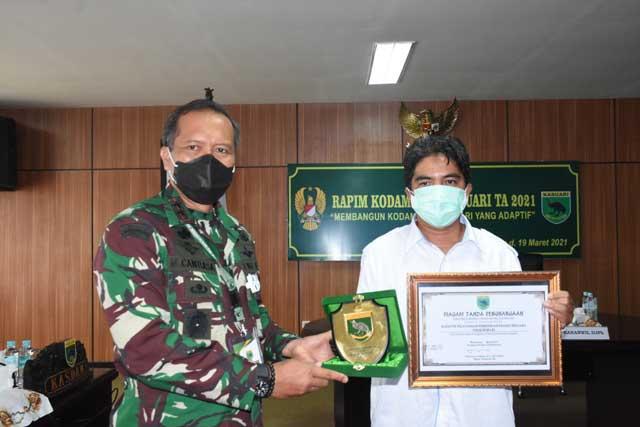 4 Satker Kodam XVIII/Kasuari Dapat Penghargaan DJA PB dan KPPN Manokwari