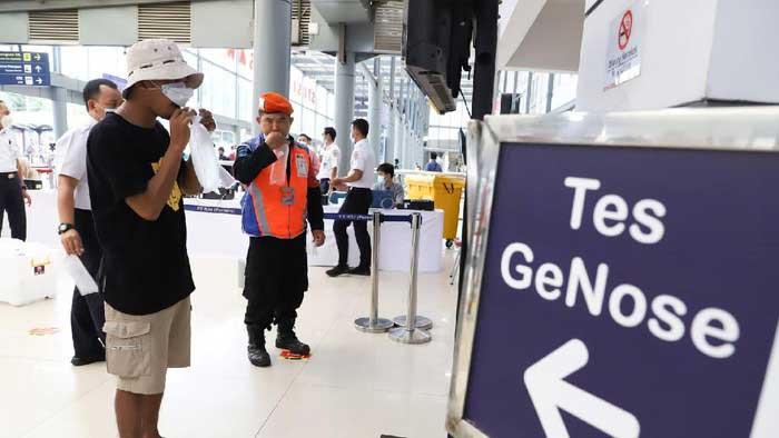 GeNose Jadi Syarat Baru Perjalanan Dalam Negeri Mulai 1 April 2021