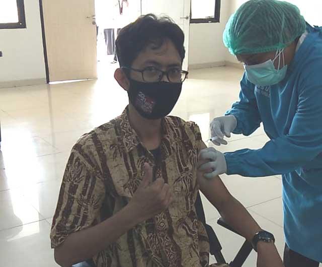 Ketua PWI Papua Barat Vaksinasi Dosis Kedua