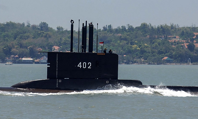 Batas Oksigen 72 Jam Lewat, Kapal Selam KRI Nanggala-04 Dinyatakan Subsunk