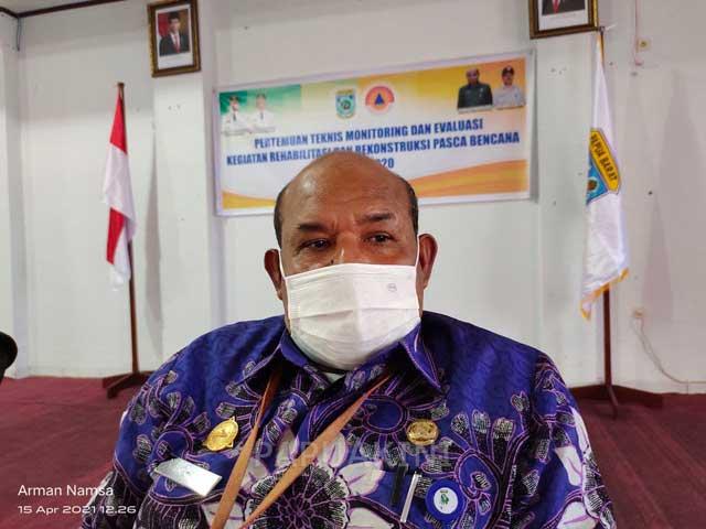 BPBD Papua Barat Koordinasi Antisipasi Siklon Tropis 94W