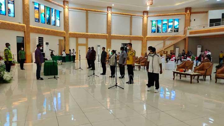 Gladi Pelantikan Bupati dan Wakil Bupati Kaimana, Fakfak, Sorong Selatan Diulang Tiga Kali