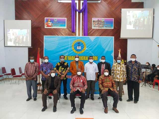 Raker BP Sinode GPI Papua, Gubernur Harap Jadi Berkat, Bupati Manokwari Imbau Bantu Berantas Pekat
