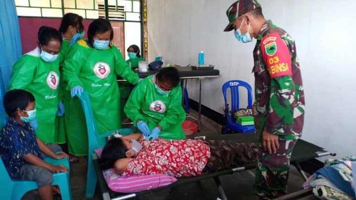 Kodim Manokwari Gandeng BKKBN Gelar KB Kesehatan Gratis