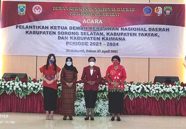 Mama Gub Ingatkan Tugas Ketua Dekranasda Kabupaten