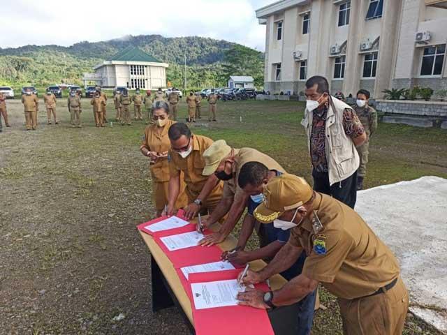 KPK Apresiasi Tambrauw Atas Pengembalian Fasilitas Dinas Pejabat Purna Tugas