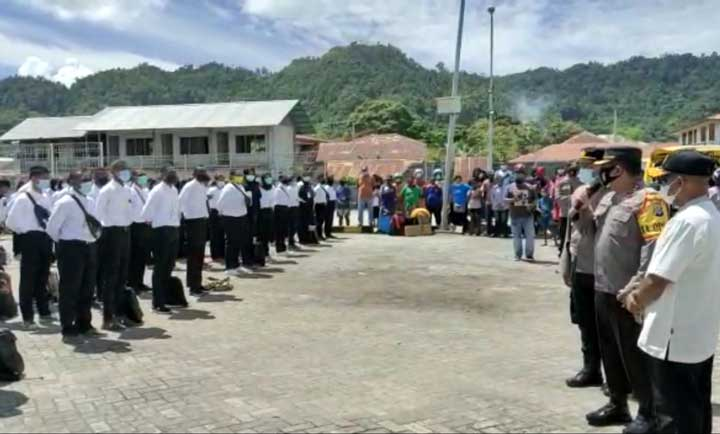 Polres Kaimana Kirim 230 Casis ke Polda Papua Barat