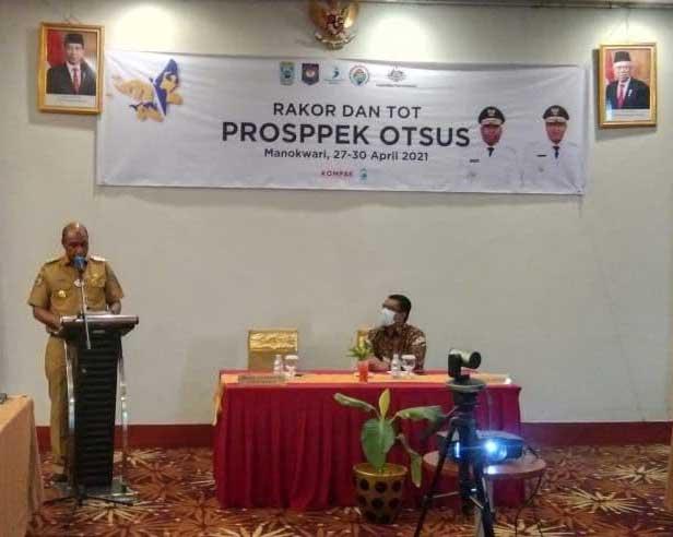 Semua Kabupaten/Kota Harus Punya Sekretariat Prosppek Otsus