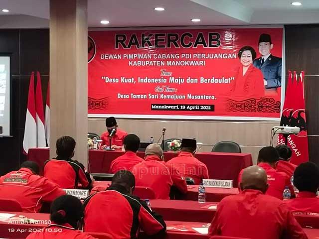 PDIP Manokwari Lirik Kader Buat Pemilu 2024