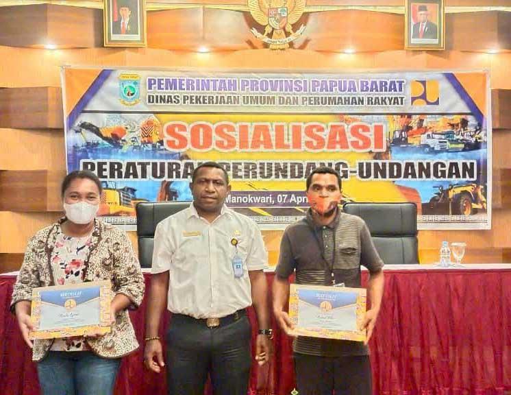 Dinas PUPR Sosialisasikan 3 Perundang-undangan ke Pengusaha