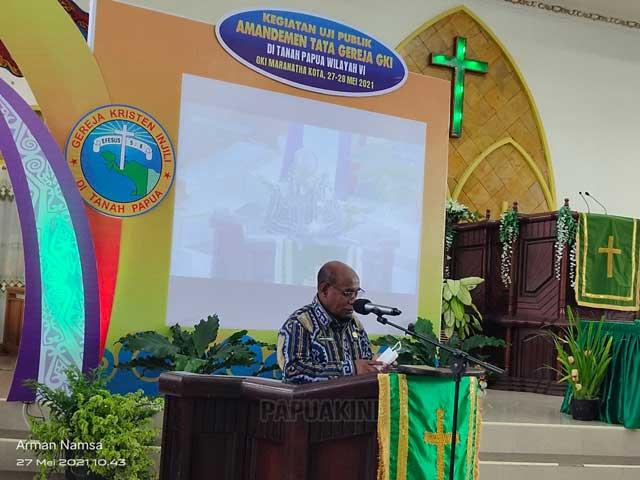 Amandemen Tata Gereja GKI di Tanah Papua Harus Cakup Aspirasi Jemaat Kota, Gunung, Pesisir, Pulau