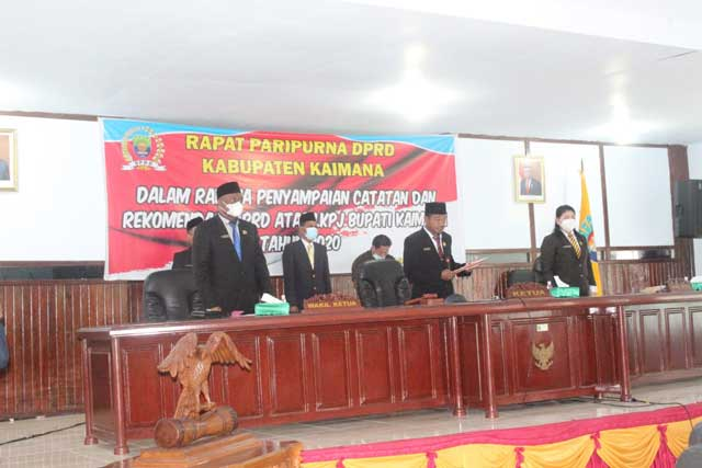 DPRD Kaimana Tanya Kontribusi PAD Investasi 30 M di Bank Papua