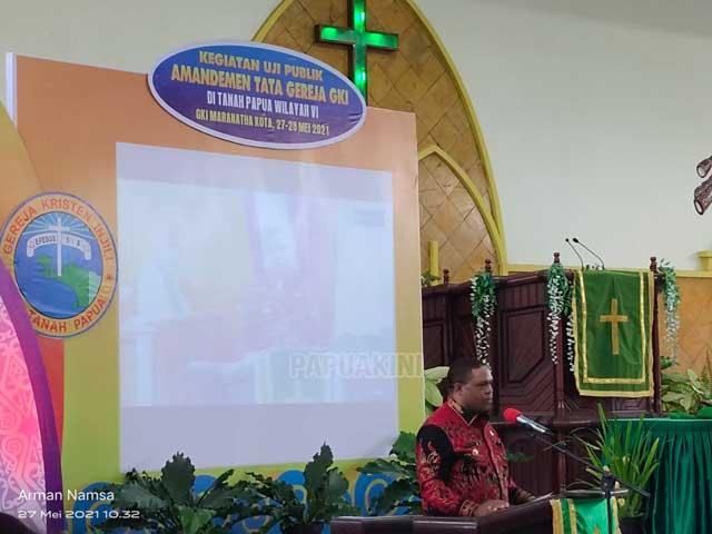 Bupati Manokwari Harap GKI di Tanah Papua Terus Jadi Gereja Modern dan Adaptif