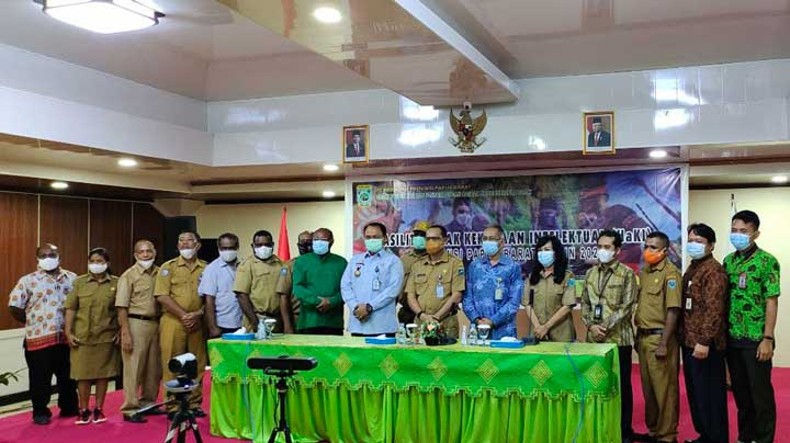 Gubernur Papua Barat Minta Bupati dan Walikota Lindungi Kekayaan Intelektual