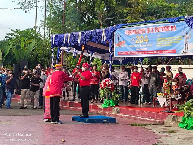 HUT ke 204 Pattimura di Manokwari, Basudara Maluku Diminta Hilangkan Sentimen Kedaerahan Sempit