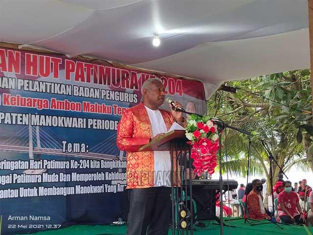Gubernur Papua Barat: Keluarga Besar Maluku dan Tanah Papua Bagian Tak Terpisahkan