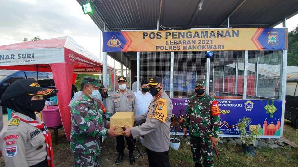 Kapolda Papua Barat, Pangdam, Kabinda Cek Pengamanan Idul Fitri
