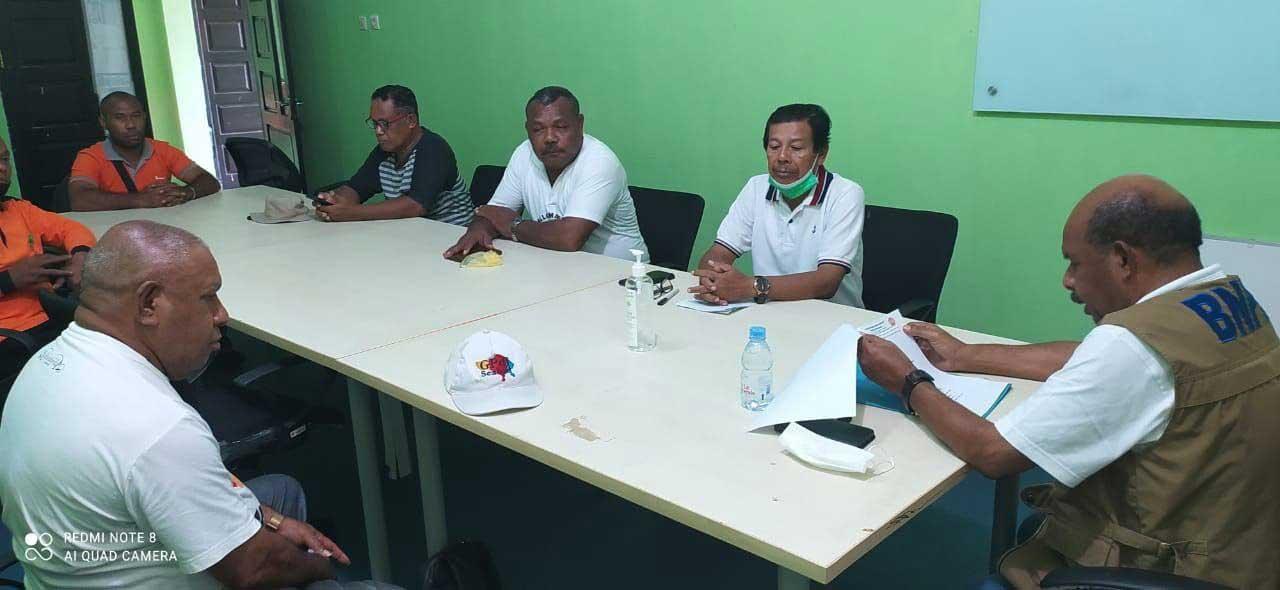 BPBD Papua Barat Sebar Puluhan Ribu Masker dan Sanitizer