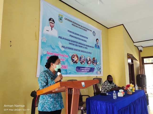 PKK Papua Barat Pelayanan Kesehatan Gratis, Kepala Distrik Manokwari Utara Terima Kasih