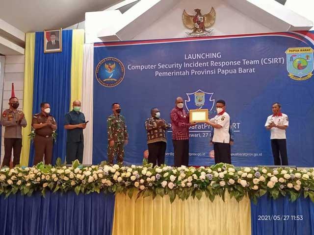 Perkuat Keamanan Data Pemerintah, CSIRT Papua Barat Terbentuk