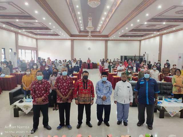 LP3KD Papua Barat Latih Petugas Liturgi Katolik