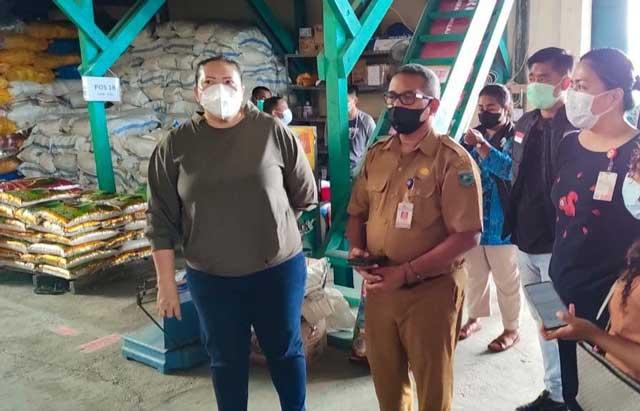 H-2 Idul Fitri Stok Bapok Papua Barat Aman