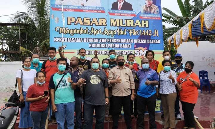 Transaksi Pasar Murah Borarsi Capai 1 M